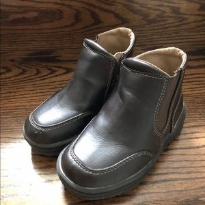 Baby Gap Faux Leather Boots